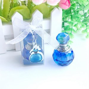 Wedding Gift K9 Crystal Round Perfume Bottle Wedding Favors Ball Crystal Scent -Bottle Bridal Shower Favors
