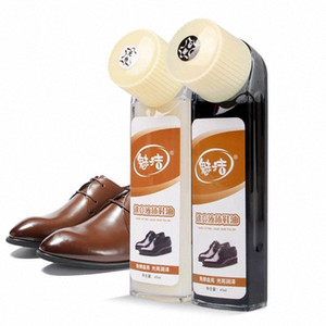 2020 Leather Shoe Boot Polish Rich Glossy Shine Wax Liquid Protection Nourishes 12.25 f0pq#