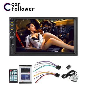 7021G Autoradio Car Audio 2 Din GPS Navigation 7'' LCD Touch Screen MP5 Auto Radio Stereo Bluetooth FM Car Multimedia Player