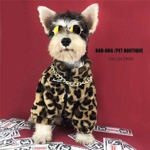 Glorious Dog Ropa de invierno FOX FUD CALIENTE PET CHAQUETE ZIP Estilo Zip El collar libre S M L XL XXL T200710