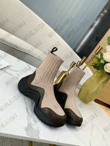 Arclight Sock Botas Luxurys Designers Womens Sneakers Treinadores Altura Aumentando Paizinho Boot Light Peso Slip-on Designer Sapatos Casuais