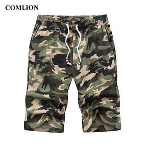 Comlion Casual Shorts Man Cotton Men Uomini Cool Camouflage Summer Vendita calda Army Brand Abbigliamento Confortevole Camo Men Cargo Pantaloncini C1211