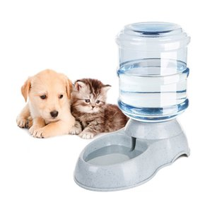 3.5L Large Automatic Pet For Feeder Drinking Fountain For Cats Dogs Environmental Plastic Dog Bowl Pets Water Dispenser