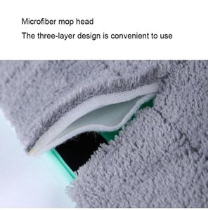 5 7 10pcs Microfiber Floor Mop Cloth Replace Rag Mop Self Wet And Cleaning Paste Mop Dry Cleaning Floor Cloth Home Bathroom bbykAE