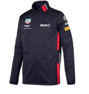 2020 nouvelle Formule Un chandail de course d'équitation veste chandail coupe-vent costume équipe version ventilateur veste chaude