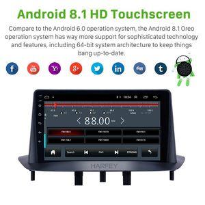 "Harfey Car Stereo 9"" HD GPS Android 8.1 Auto Radio Navi for Megane 3 2009 2010 2011-2014 support Carplay Bluetooth SWC car dvd"