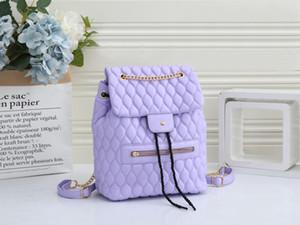 2021 Mochila de la nueva moda Mini bolso Mini bolso de hombro solo hombro Mochila de la escuela de ocio marrón # A11