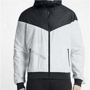 A3 Fashion Mens Jacket Spring Autumn Outwear Windbreaker Hoodie Zipper Fashion Hooded Jackets Coat Outside Sport Asian Size Men's Clothing