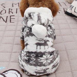 100% Cotton Print Pet Dog Cat Warm Clothes Puppy Kitten Jumpsuit Hoodie Coat Doggy Apparel Keep Winter Dog Clothes Pet Clothes