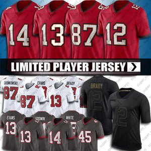 13 Mike Evans Jersey 12 Tom Brady Jerseys 87 Rob Gronkowski 81 Antonio Marrom Jersey Chris Godwin Devin White Jerseys Jersey