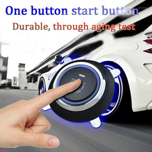12V Car Start Stop Button Engine Push Start Button Alarm Lock Keyless System Door Push Tactile Buttons universal RFID lock Hot1