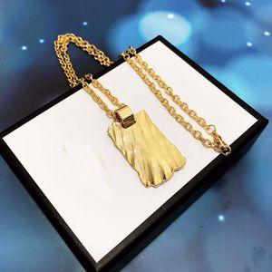 lettera Iced Cage Dog Tag collana ciondolo in acciaio libero della corda color oro catena d monili di Bling di Hip Hop degli uomini di zircone cubico per il regalo