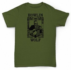 هوولين WOLF T SHIRT DELTA BLUES SOUL JAZZ CHESS فينيل 44Xr #