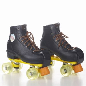 9j3Mp Double row shoes embossed cowhide Double row Skating Shoes skating shoesroller skates embossed cowhide roller skates