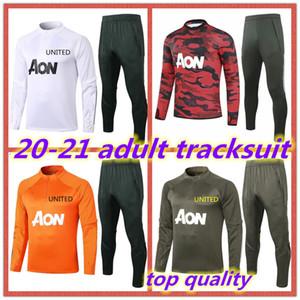 20 21 Survêtement Survêtement adulte arsenal homme bayern de utd 2020 Survetement 2021 Rashford B.FERNANDES paris Pogba United Football set jogging veste