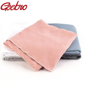 Geebro New Wool Baby Swaddle Soft Blankets Newborn Rib Sleeping Bag Infant Bedding Blanket Towel Scarf Baby Stuff