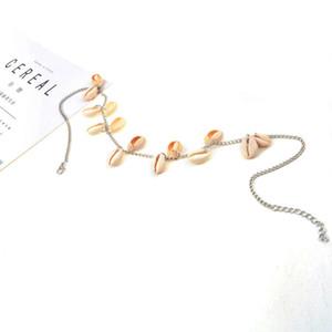 Shell Colar Beach jóias Boho Gargantilha Colar Behemian Tassel Colar de cadeia