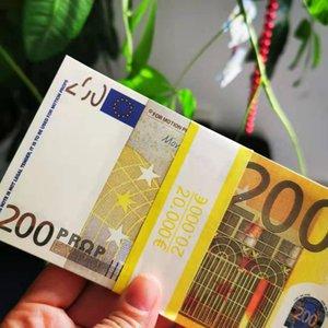 Bar Atmosfera Euros Prop Money Game Banknote Brinquedos Papel Filme Ferramenta Papel Prop Moeda 100 pcs / Pack