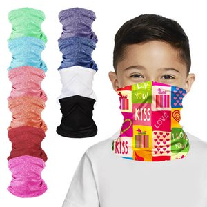 Kid Gesichtsschutz Ice Silk Anti-sai Breathable Anti-Schleier Riding Gesichtsmasken Kid Sports Turban Multifunktionale Magie Turban FWE1330