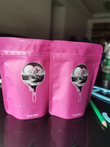 Premium Mylar Bolsa vacía Embalaje Packaging Indoor Pink 3.5G Bolsas negras locales Orchid 10x12.4cm Wonderbrett WMTQD POWERSTORE2012
