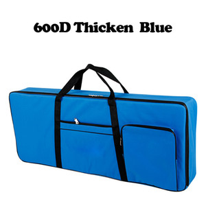 600D Thicker Nylon 61 Key Keyboard Bag Instrument Keyboard Bag Thicken Waterproof Electronic Piano Cover Case For Electronic 201014