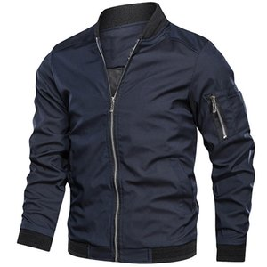 Mens jackets and coats Men's bomber jacket Spring Autumn jacket men New Fashion Army Outdoors clothes Casual streetwear 201013