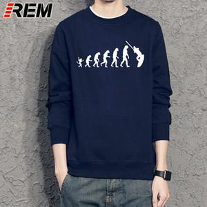 REM Online Hoodies Shop Men'S The Evolution Of Wakeboarding mit Rundhalsausschnitt Lustige Hülsen-Sweatshirts Sport Kapuzen SweatshirtHoodie