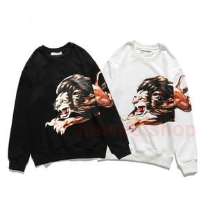 2021 novo designer de luxo roupas mens leão hoodies impressão moda carta de impressão Hoodie casaco com capuz mulheres Casual Rua camisola Jumper
