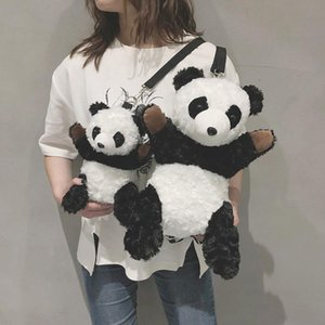 Pack Cute Animal Plush Women New Cartoon Doll Stuffed Toy Bag Crossbody Bags Messenger Winter Shoulder Girls Panda Wgpci