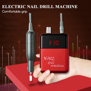Portable Electric Nail Drill Machine Adjustable Speed Digital Display Rechargeable Nail Removal Manicure Pedicure qy2t#