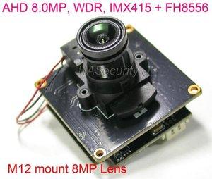"""카메라 8MP AHD-8.0MP @ 15FPS, 1 / 2.8 """"Sony IMX415 CMOS 이미지 센서 + FH8556 CCTV 카메라 모듈 PCB 보드 + OSD 케이블 + M12 Lens1"""