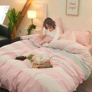 Conjunto de ropa de cama Cubierta de edredón Colcha Ropa de cama Luna para MATR ... Euro para la casa Doble kits familiares Cubiertas de invierno Casa de invierno