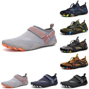 Hot Mens Womens Wading Shoes Platform Designer Trainer Triplo Black Black Bianco Bianco Fashion Breath Breath Uomo Donna Sport Sneakers Dimensioni 36-47