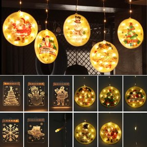 LED Star and Moon Fairy Curtain Light Christmas Garland String Lights Outdoor for Wedding Party Holiday New Year Decor