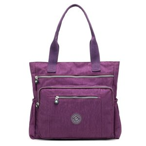 Fashion women Waterproof Nylon tote Bag Outdoor Travel Shoulder Bag Leisure Mommy Large Capacity Ladies Handbag
