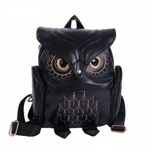 Cute Owl Fashion Rucksäcke Karikatur-Frauen-Rucksack Softback Schulranzen Teenage Rucksäcke für Mädchen YL5