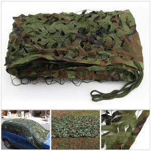 Кемпинг Camo Net Army Woodland Jungle Camouflage Nets Укрытие Скрыть сетку Sun Helter1