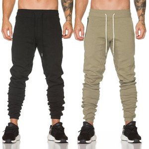 THEFOUND Fashion Men Casual Jogger Solid Drawstring Baggy Harem Hip-hop Pants Slacks Trousers1
