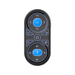 2020 G11 Air Mouse Google Voice Microphone RGB Backlit Gyro Remote Control IR Learning 2.4G Wilress Rechargeable Mini Remote