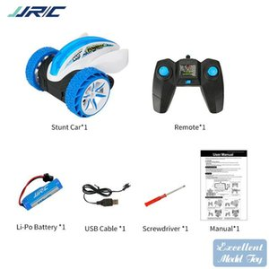 JJRC Q77 2.4G Remote Control Devil Fish Stunt Car Toy, 360° Spin, Bounce& Somersault, Dazzling Color Lights, Christmas Kid Boy Gift, 2-1