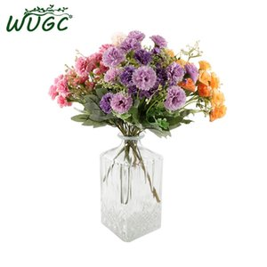 20 Heads Korean Artificial Silk White Snowflake Lilac Flowers Babysbreath For Wedding Home Decoration Gypsophila Christmas Decor