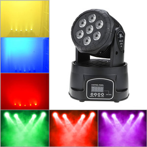 70W 7 LED RGBW 4 in 1 LED LED Stage Effect Moving Head Light