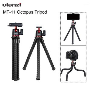 MT-11 Octopus Tripod for DSLR Camera Smartphone Magic Arm W Detachable Ballhead Hot Shoe Phone Clip1