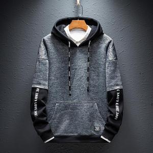 Harajuku Streetwear Fleece Hoodies Sweatshirts Men Animal Printing Casual Hoodie Warm Hip Hop Swag Hooded Outwear