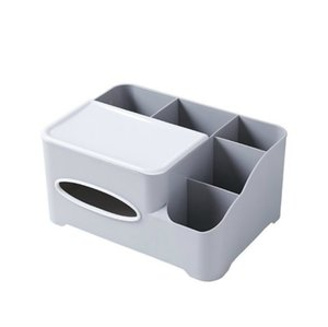 New Nordic Tissue Box Remote Control Home Office Desk Storage Box Living Room Multifunctional Paper Drawer Box Bedroom Organizer