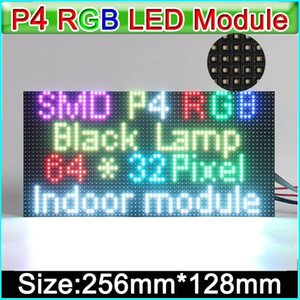 P4 indoor Full color LED displays module,LED Video Wall SMD RGB P4 Indoor full color led panel, 256mm*128mm   128mm *128mm1