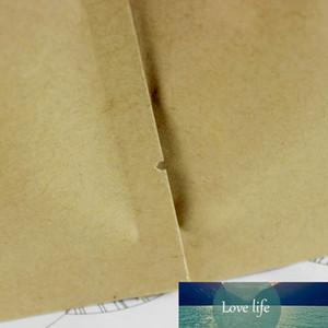 100 adet / grup 11 * 16 cm Isı Mühürlenebilir Kraft Kağıt Alüminyum Folyo Açık Üst PACKA0ge Kılıfı Gıda Kahve Snack Etkinlik Için Mylar Paketi Çanta