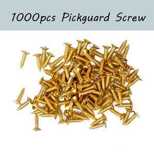 1000PCS Guitar Pickguard Screws 11mm* 6mm For Pickguard Back Plate Mount DIY