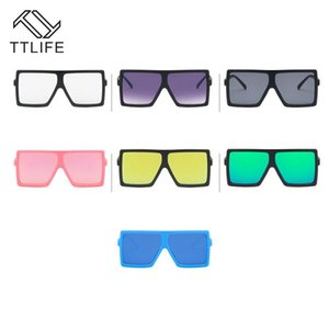 TTLIFE Kids Brand Sunglasses 2020 UV400 Coating Sun Glasses Camouflage Frame Goggle Boys Girls Lovely Sunglass oculos Masculino