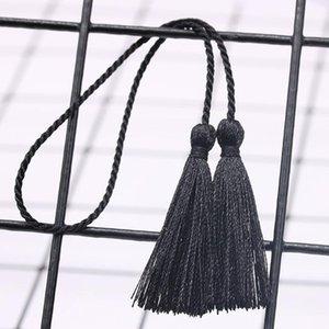 10 stück klein zwei kopf seilband Quasten diy anhänger schmuck vorhangkleidung dekorative zubehör handtasche pendrant handwerk tassel h jllvvj